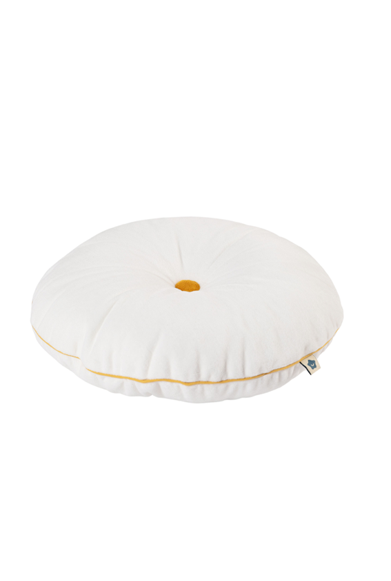 white button cushion