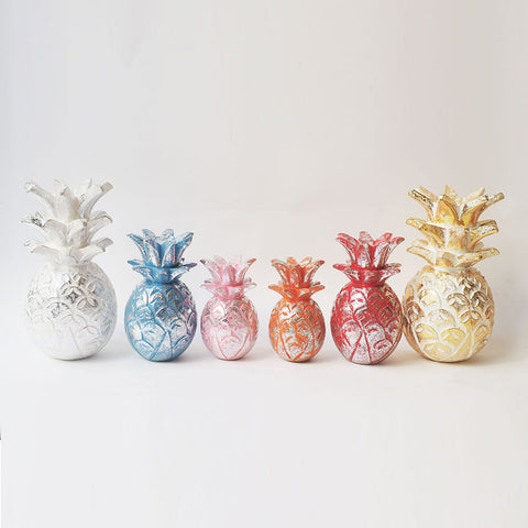 Medium Sized Colourful Pineapples