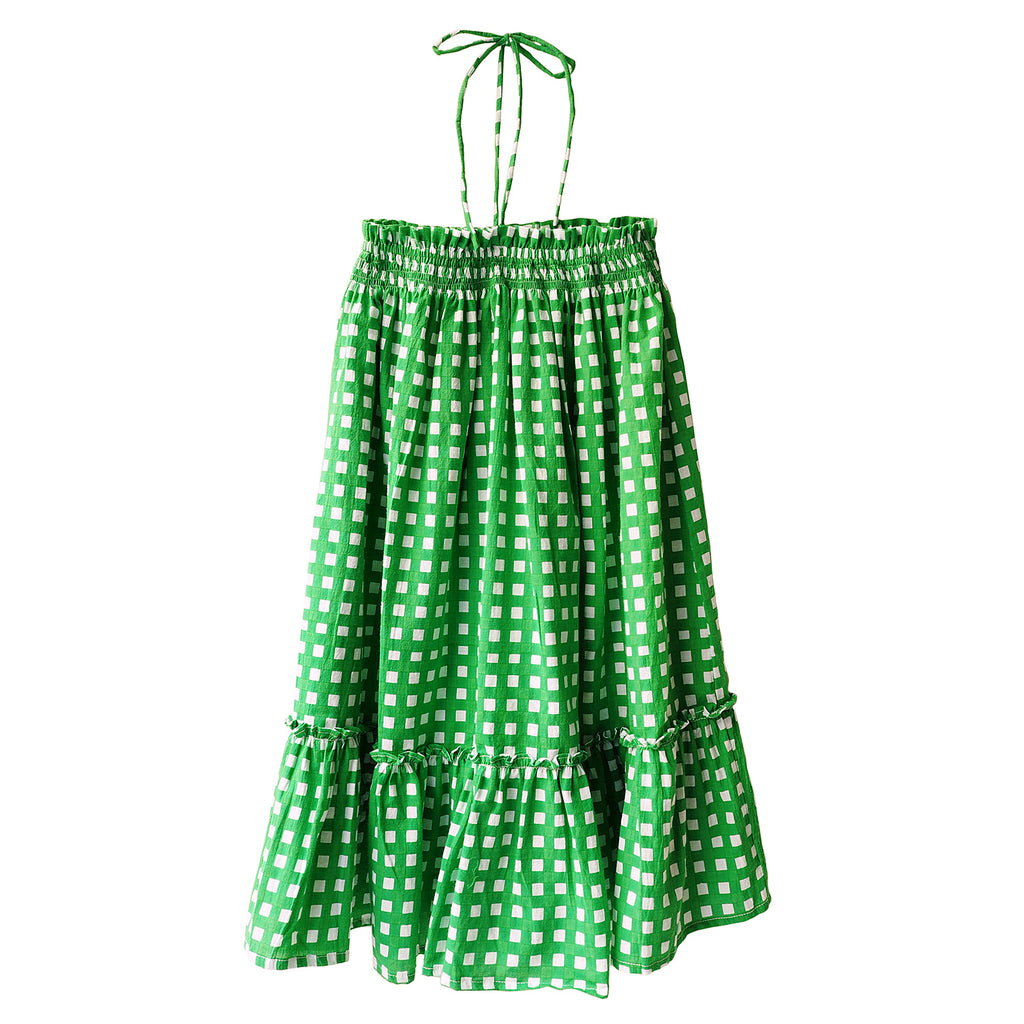Green Daisy Dress