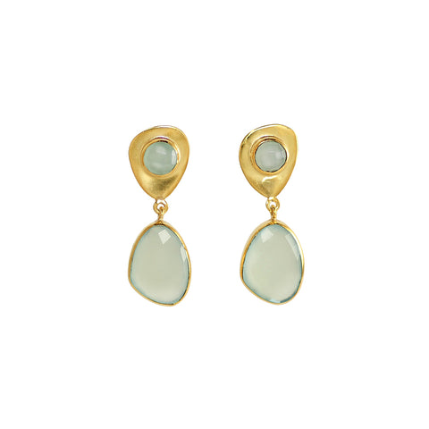 Prehnite Alina Earrings