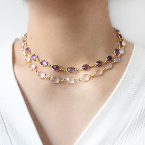 Amethyst VIvian Necklace
