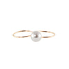 Two Finger One Pearl Ring