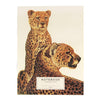 Leopard notebook made of recycled paper with no lines, perfect gifts