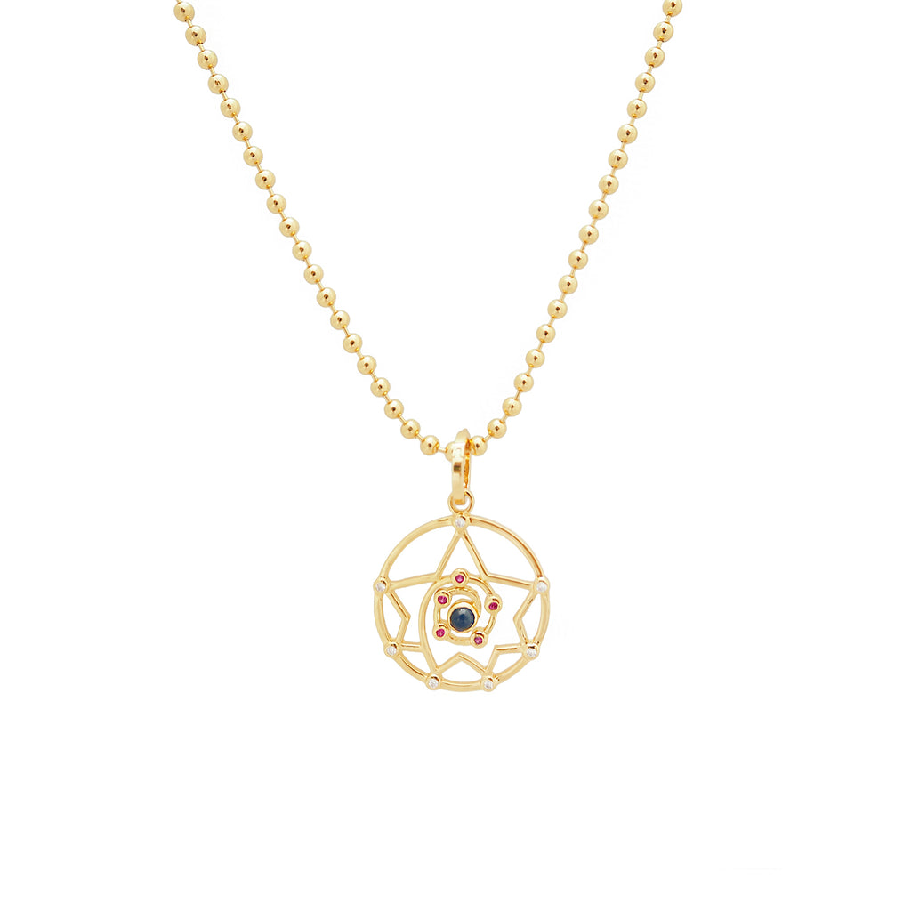 MYSTICAL GRID NECKLACE
