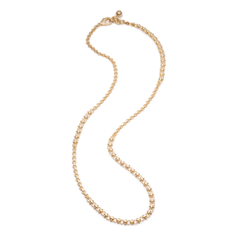 PLAZA MIXED CHAIN NECKLACE