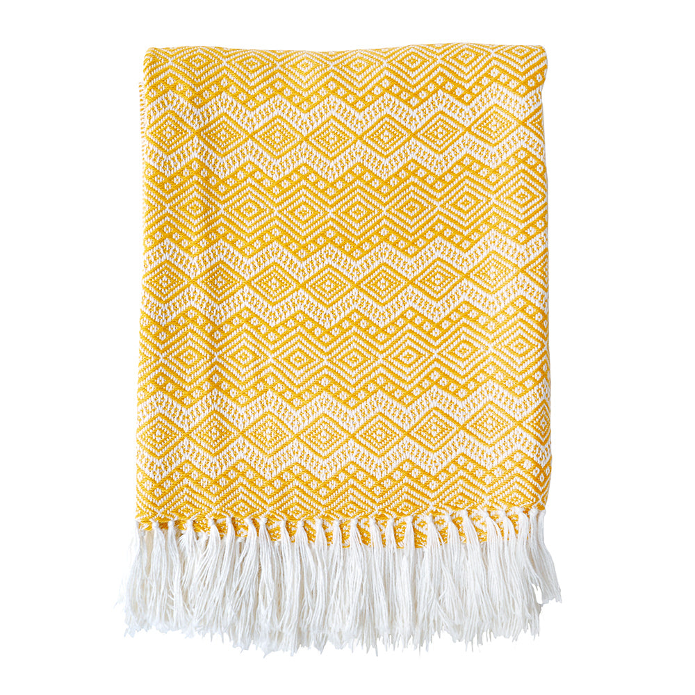 Yellow Manta Blanket