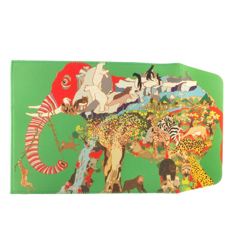 Elephant Polarzoo Pouch