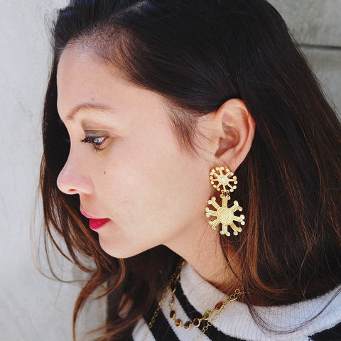 Mayan Stars Earrings
