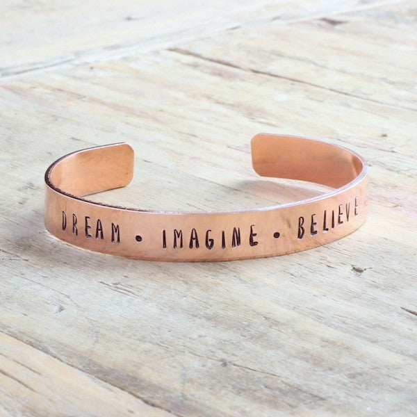 Dream-Imagine-Believe Bracelet