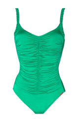 Maryan Mehlhorn Luxury Caribbean Green Swimsuit