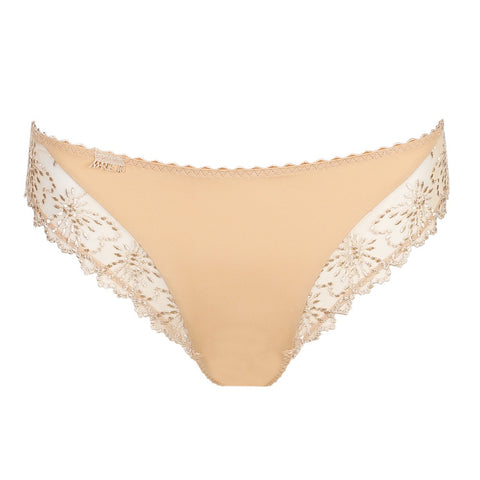 Madelon Italian Brief - Pearled ivory