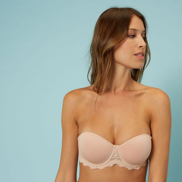 Caresse Non padded Strapless Spacer Bra