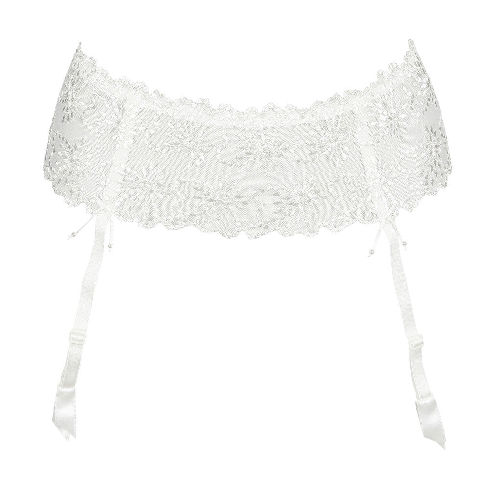 Jane Suspender Belt - Natural