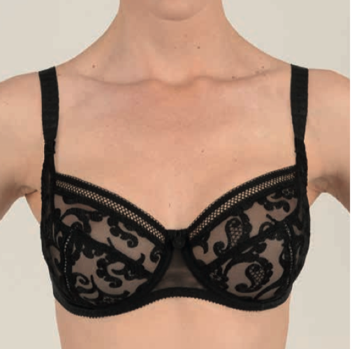 Stella Noir Underwired Low-Necked Bra