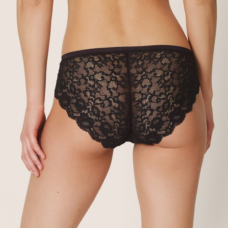 Colour Studio Lace Rio Brief - Black