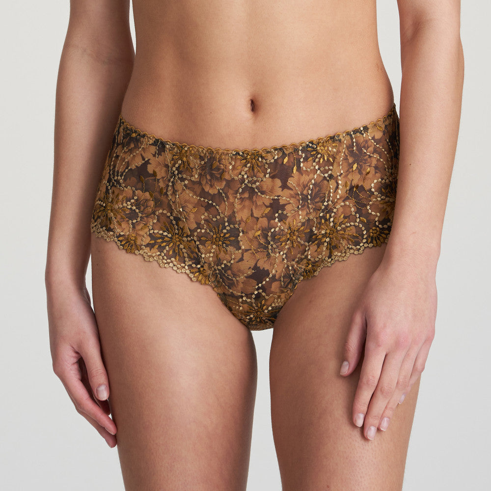 Jane Luxury Thong - Gold