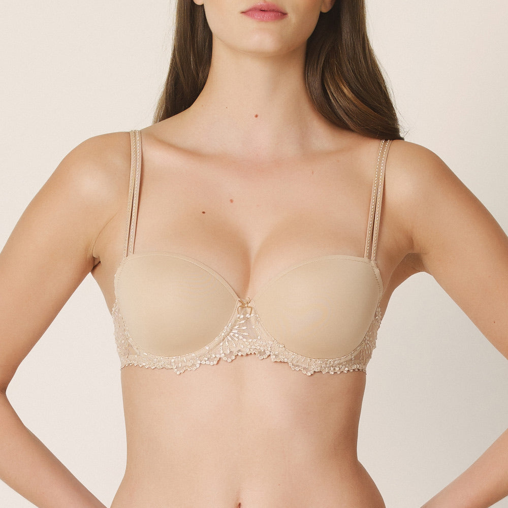 Jane Padded Balcony Bra - Dune