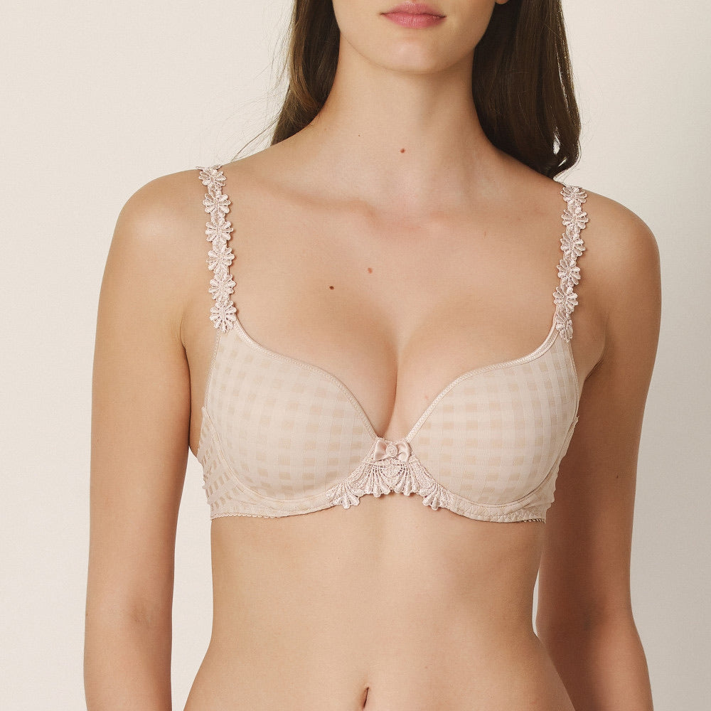 Avero Heart Shaped Padded Bra - Caffe Latte