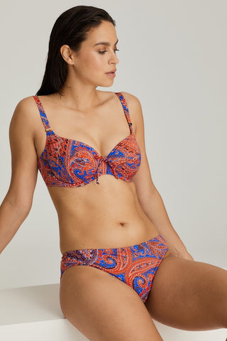 Pacific Beach Balcony Padded Bikini Set