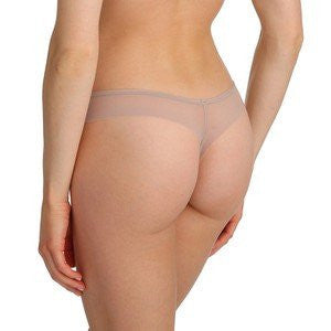 Marie Jo Lingerie Undertones Thong in Nude ~ Patine Back