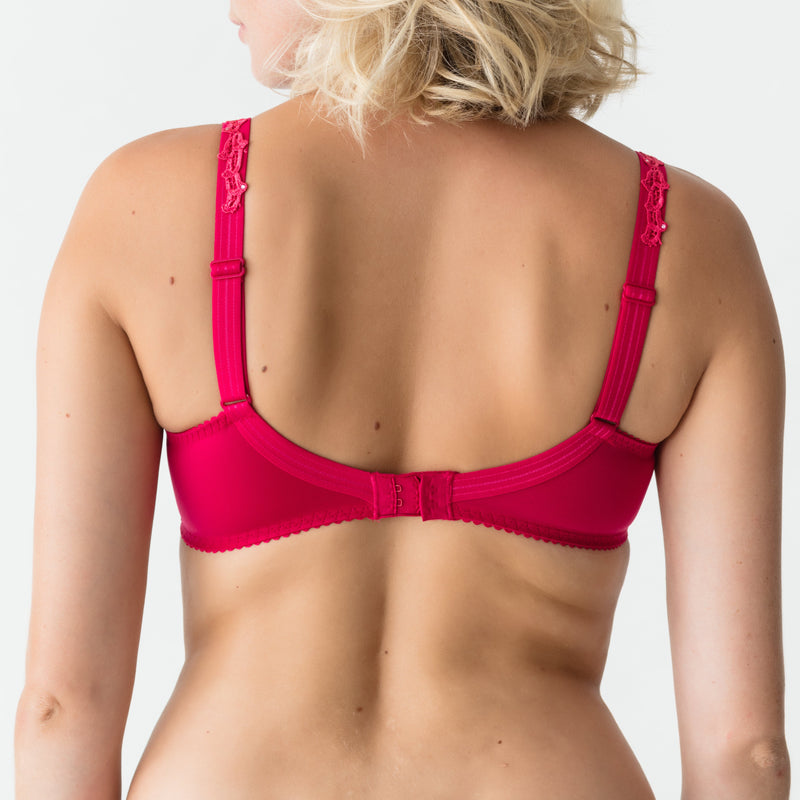 Deauville Full Cup Wire Bra - Persian Red
