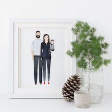 Custom Family Portrait Illustration - Nia Tudor Illustration  - 7