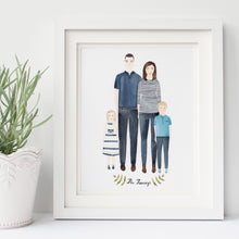 Custom Family Portrait Illustration - Nia Tudor Illustration  - 5