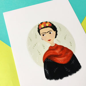 Frida Kahlo Print - Nia Tudor Illustration