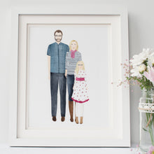 Custom Family Portrait Illustration - Nia Tudor Illustration  - 6
