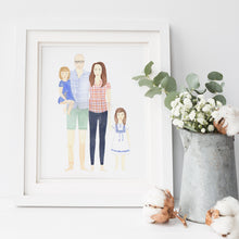 Custom Family Portrait Illustration - Nia Tudor Illustration  - 3