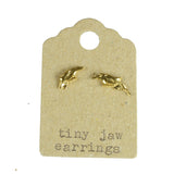 Tiny Jaw Earrings