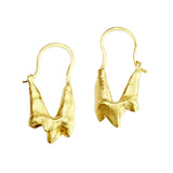 Fox Molar Teeth Hook Earrings