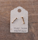 Tiny Bone Earrings