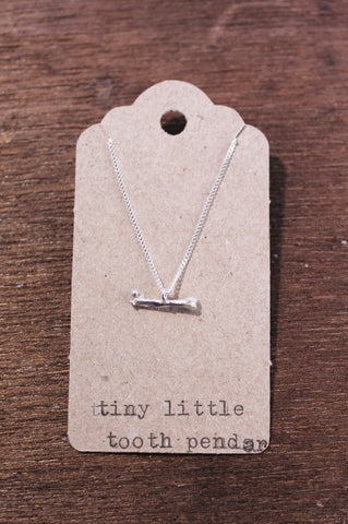 Tiny Bone Pendant