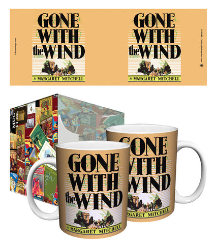 Mugs: Classic Book Covers/Gone With The Wind