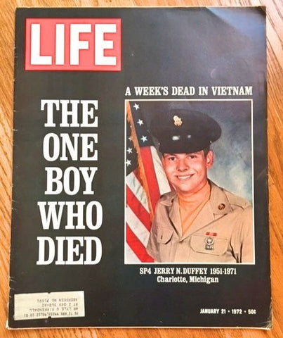 Life magazine: The Boy Who Died 1972