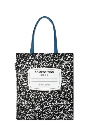 Tote: Composition Notebook