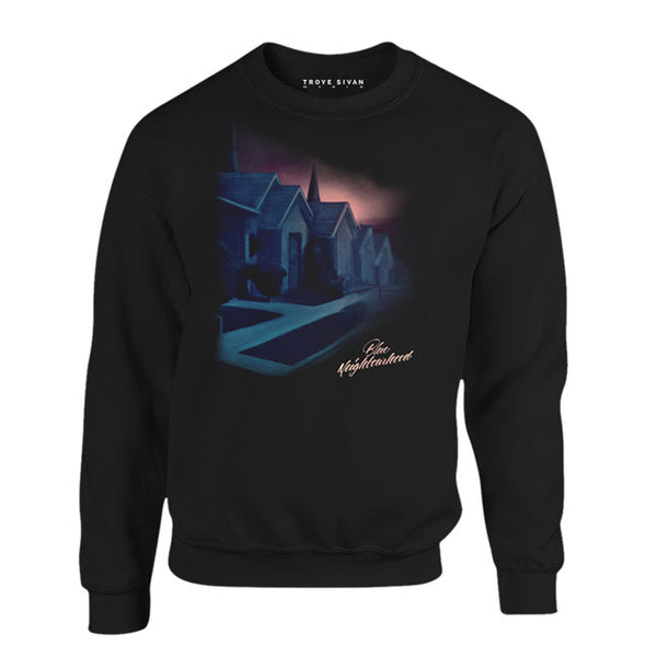 BLUE NEIGHBOURHOOD CREWNECK SWEATSHIRT