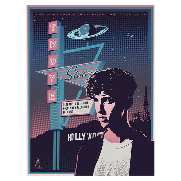 HOLLYWOOD PALLADIUM EVENT POSTER