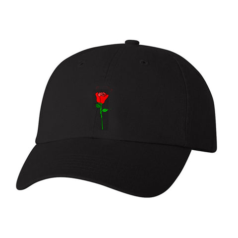 TROYE SIVAN ROSE BLACK HAT