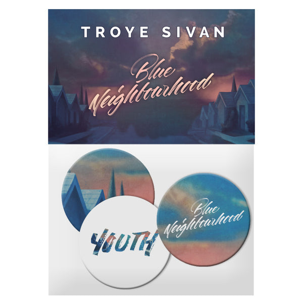 BLUE NEIGHBOURHOOD YOUTH BUTTON PACK