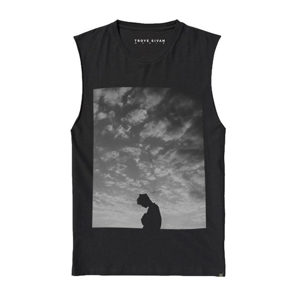 UNISEX CLOUDS SILHOUETTE TEE
