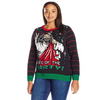 Party Jesus the Birthday Boy Women's Plus Size Christmas Sweater