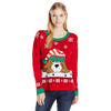 Jingle Bell Dog Juniors Holiday Sweater