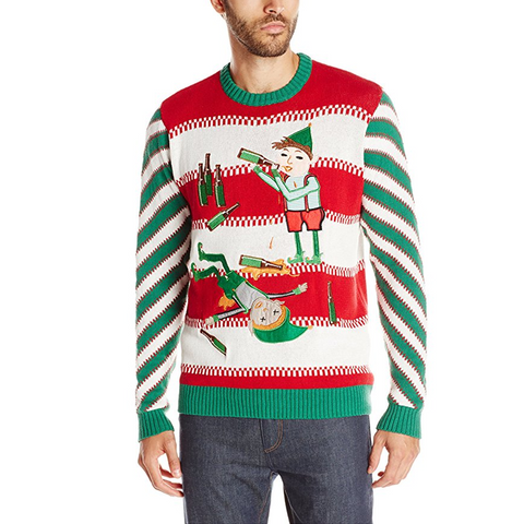Liquored Up Elves Unisex Christmas Sweater
