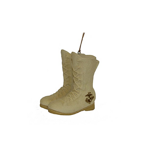 Marine Corps Boots Christmas Ornament