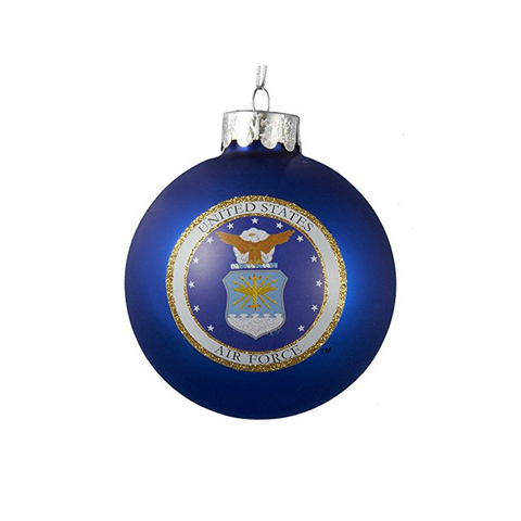 U.S. Air Force Ball Glass Ornament