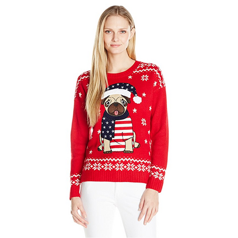 Women's PUG-ly Christmas Sweater