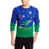 Jurassic Holiday Feast Unisex Christmas Sweater