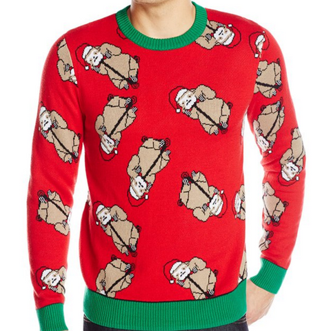 Santa Sloth Scatter UNISEX Sweater